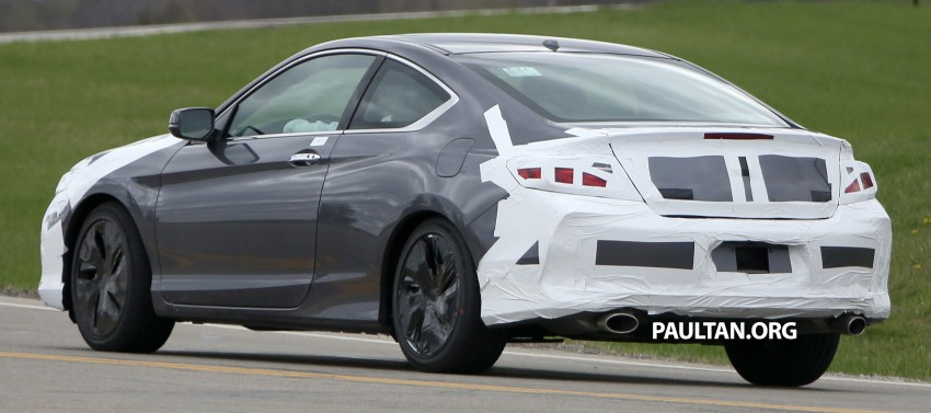 SPIED: 2016 Honda Accord Coupe wears little camo Image #336319