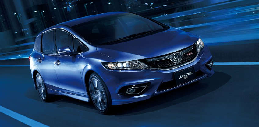 Honda Jade RS debuts with new VTEC Turbo engine Image #341556