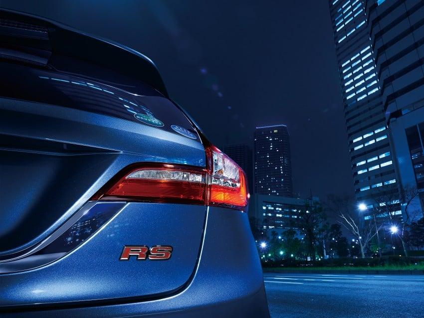 Honda Jade RS debuts with new VTEC Turbo engine Image #341558