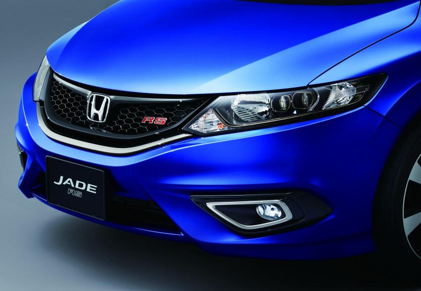 Honda Jade RS debuts with new VTEC Turbo engine Image #341571