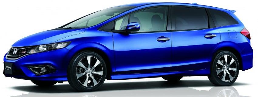Honda Jade RS debuts with new VTEC Turbo engine Image #341586