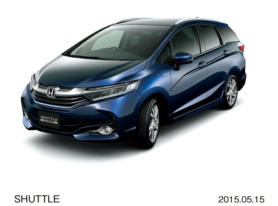 2015 Honda Jazz Shuttle Goes On Sale In Japan Image 339415