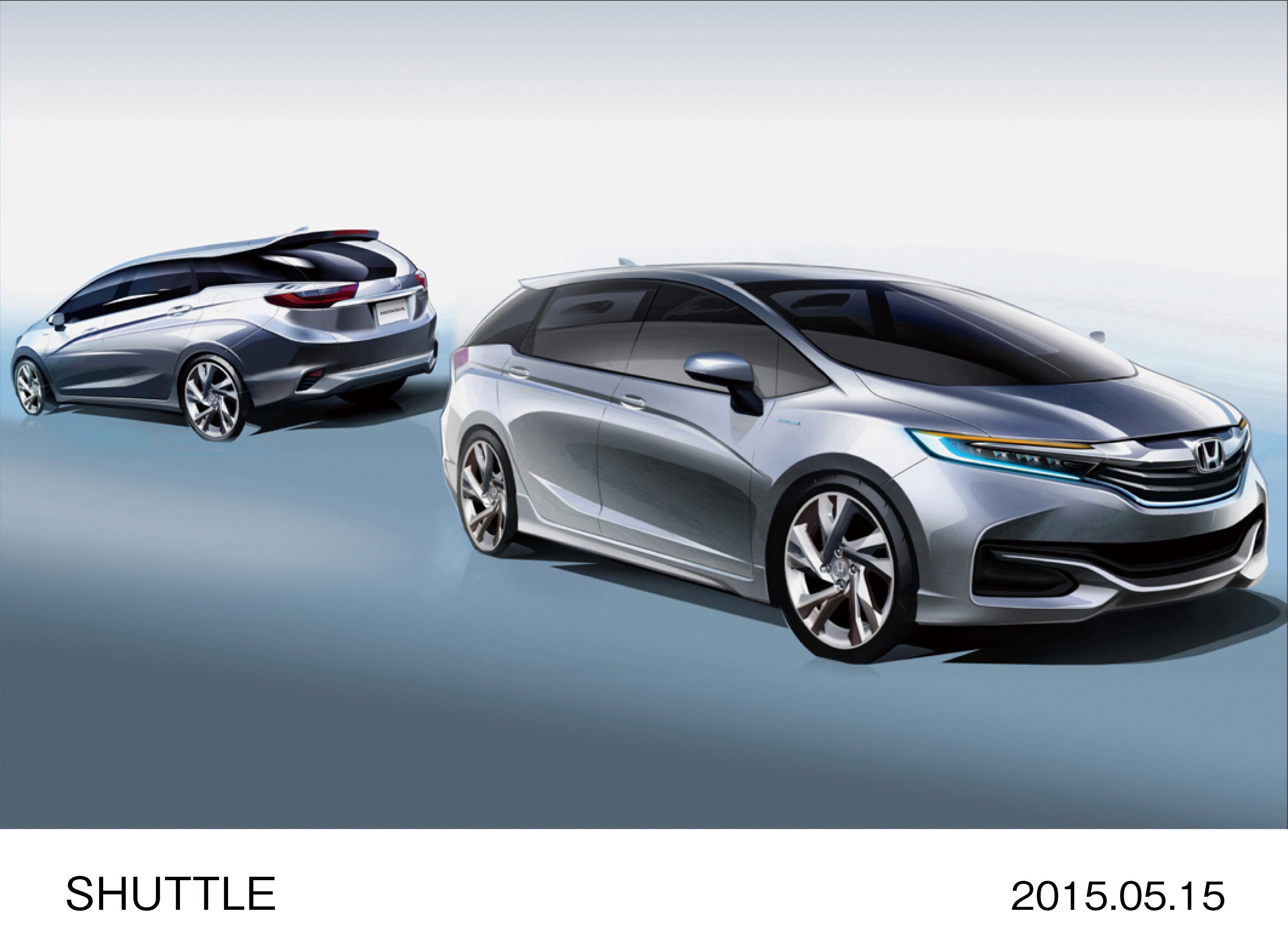 2015 Honda Jazz Shuttle Goes On Sale In Japan Paul Tan
