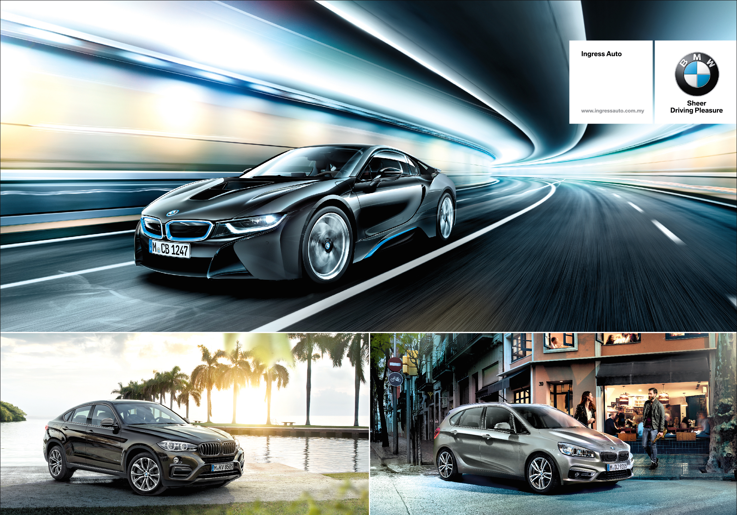 Ad Get Up Close And Personal With The Bmw I8 Bmw X6 And