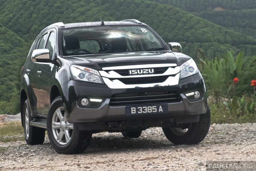 DRIVEN: Isuzu MU-X up Cameron Highlands and back Image #343944