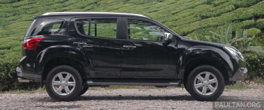 DRIVEN: Isuzu MU-X up Cameron Highlands and back Image #343946