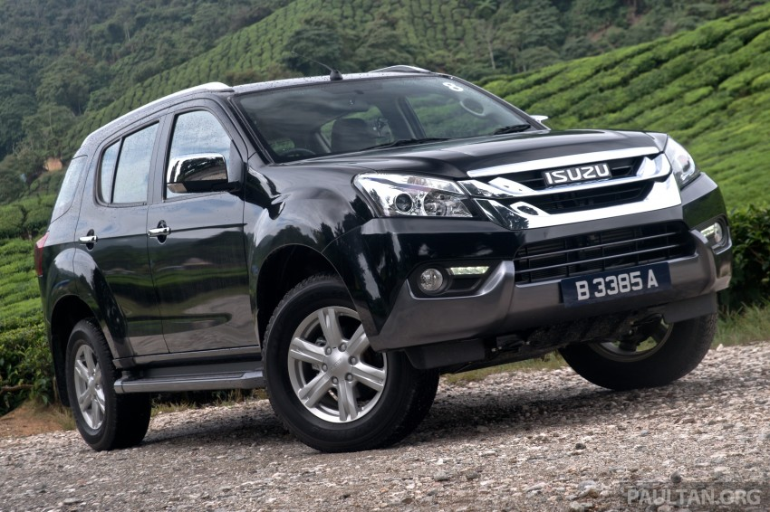 DRIVEN: Isuzu MU-X up Cameron Highlands and back Image #343948