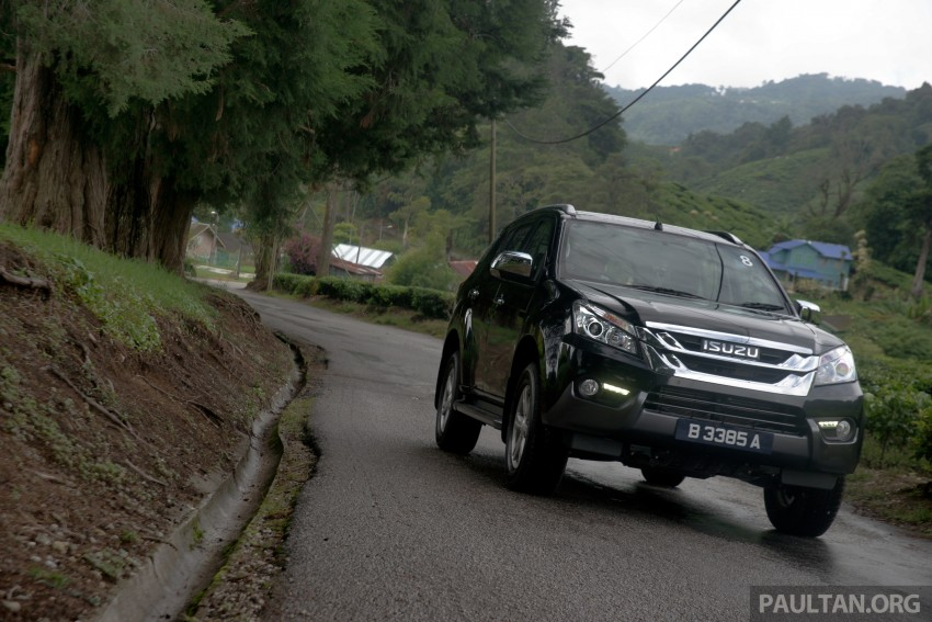 DRIVEN: Isuzu MU-X up Cameron Highlands and back Image #343949