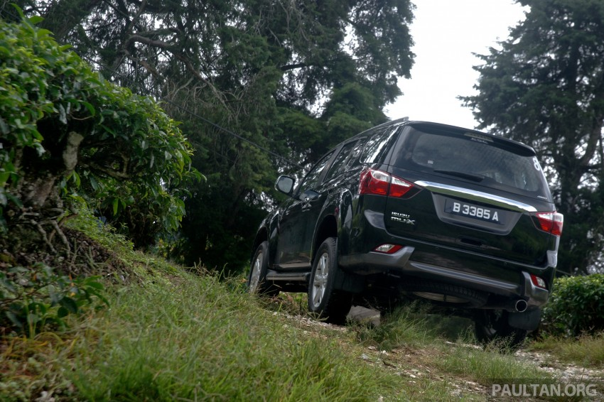 DRIVEN: Isuzu MU-X up Cameron Highlands and back Image #343952