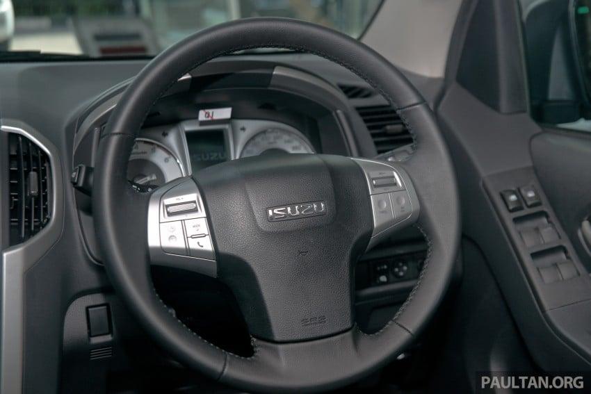 DRIVEN: Isuzu MU-X up Cameron Highlands and back Image #343964