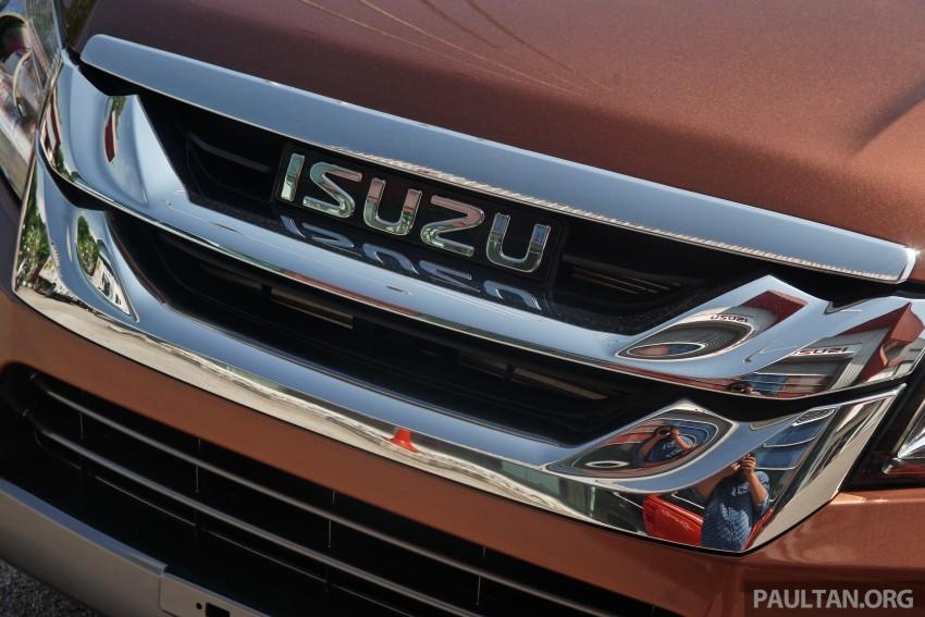 DRIVEN: Isuzu MU-X up Cameron Highlands and back Image #343995
