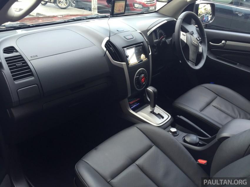 GALLERY: Isuzu MU-X – more photos of the interior Image #337207
