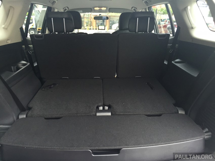 GALLERY: Isuzu MU-X – more photos of the interior Image #337209