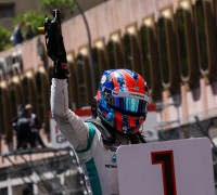 MONACO (MC) MAY 21-24 2015 - Grand Prix de Monaco 2015. Jazeman Jaafar #3 Fortec. Portrait. © 2015 Sebastiaan Rozendaal / Dutch Photo Agency / LAT Photographic