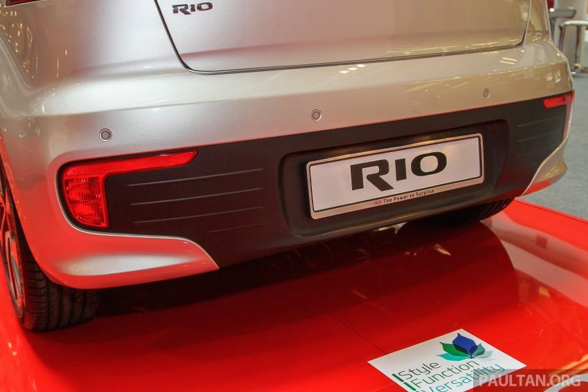 GALLERY: Kia Rio 1.4 SX facelift launched at 1 Utama Image #338444