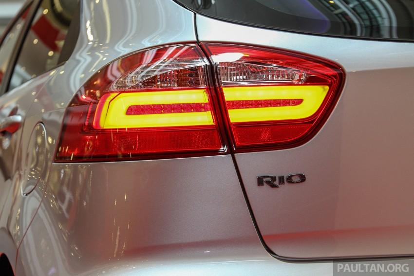 GALLERY: Kia Rio 1.4 SX facelift launched at 1 Utama Image #338448