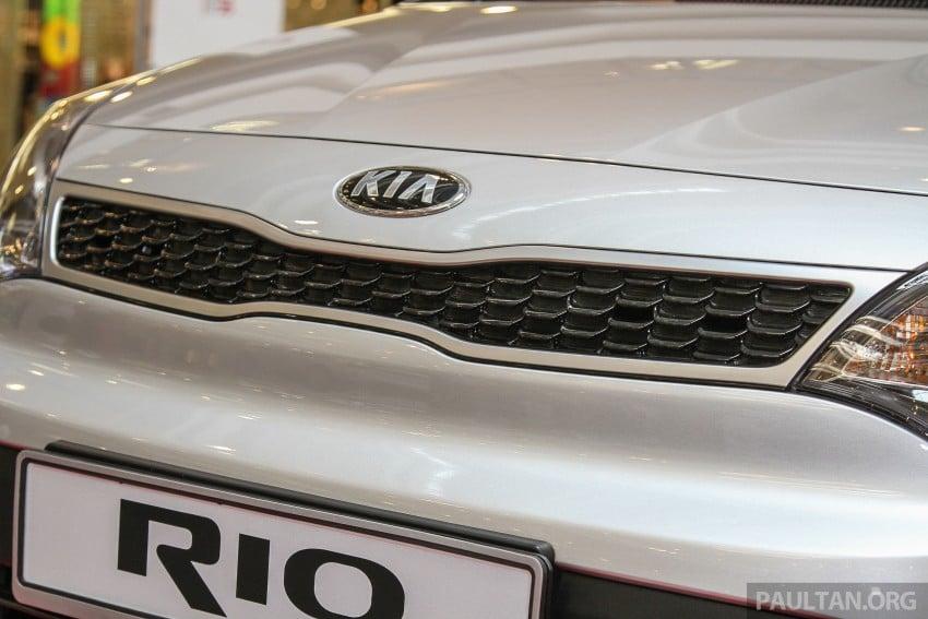 GALLERY: Kia Rio 1.4 SX facelift launched at 1 Utama Image #338431