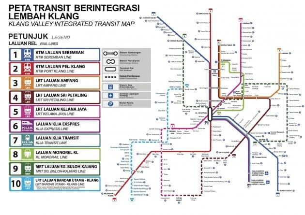 LRT3 Line integration map