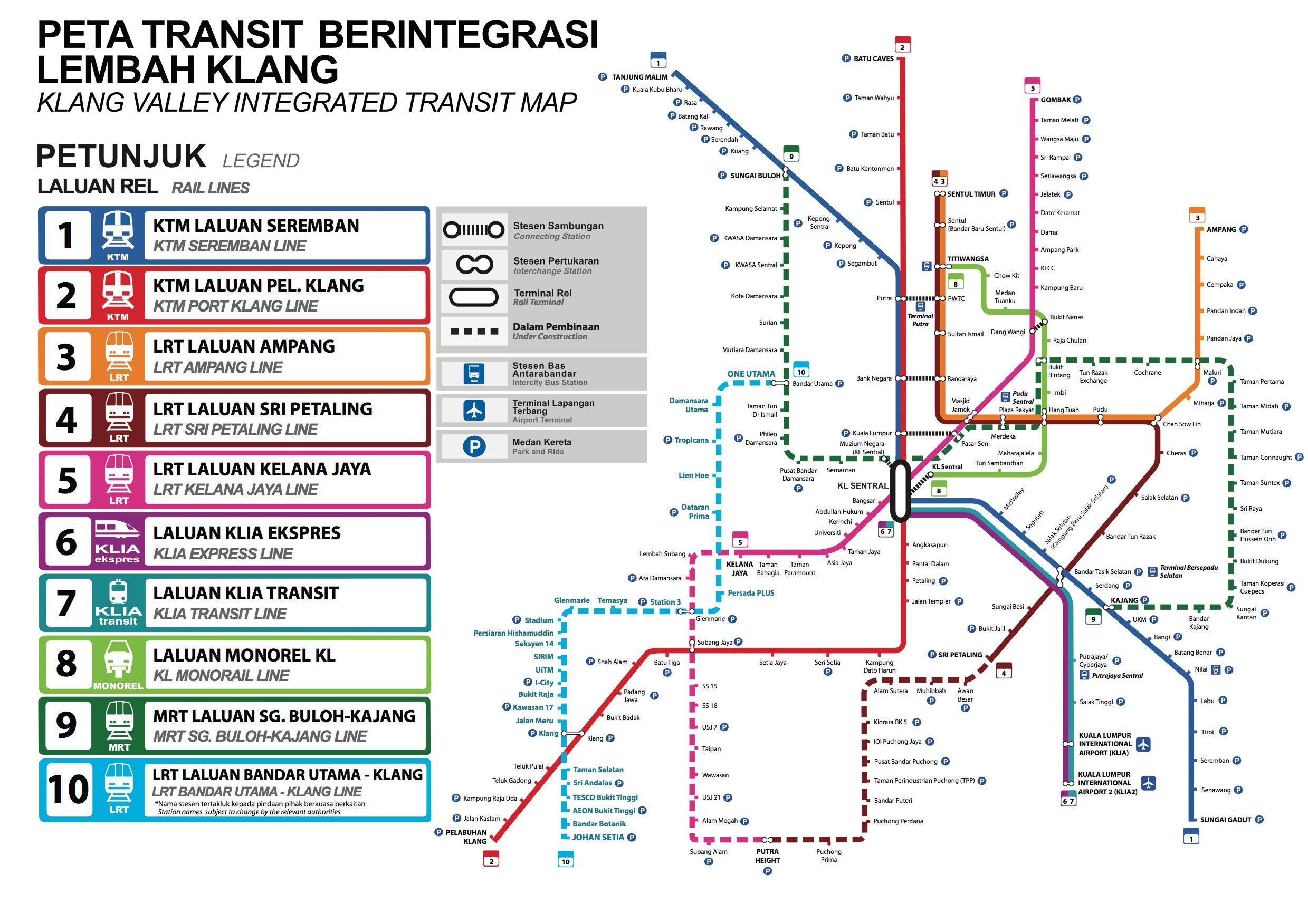 LRT3 Bandar Utama-Klang rail project - more details about
