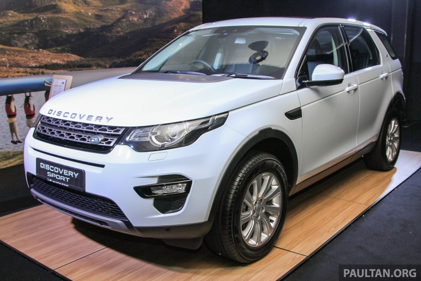 Land Rover Discovery Sport SD4 previewed in Sepang – 2.0L petrol and 2.2L diesel to go on sale late-July Image #342226