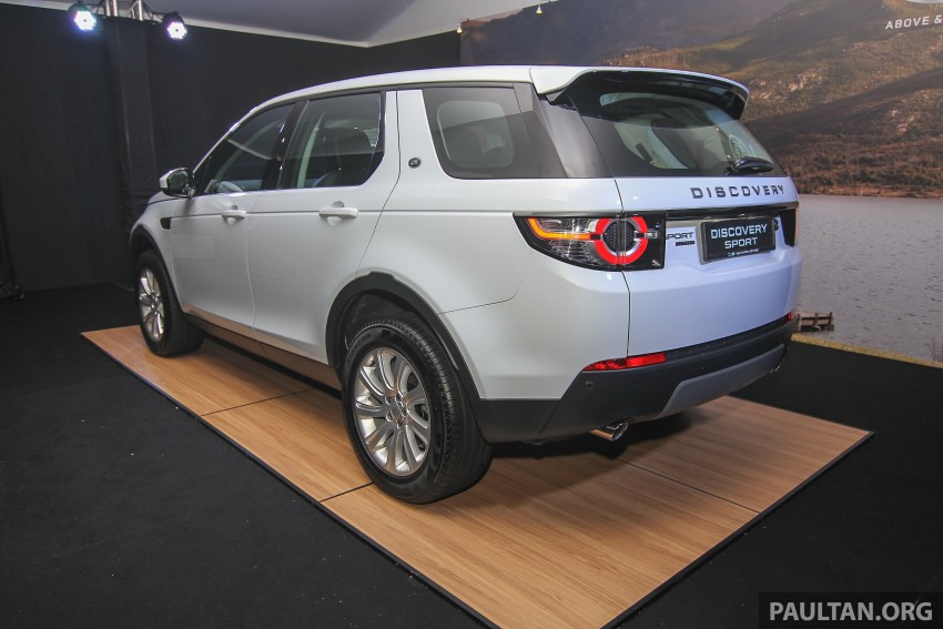 Land Rover Discovery Sport SD4 previewed in Sepang – 2.0L petrol and 2.2L diesel to go on sale late-July Image #342239
