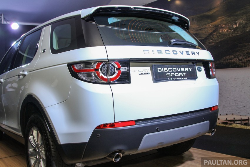 Land Rover Discovery Sport SD4 previewed in Sepang – 2.0L petrol and 2.2L diesel to go on sale late-July Image #342240
