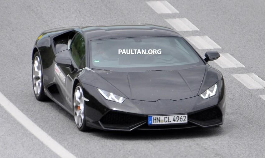 SPYSHOTS: Lambo Huracan SV testing? Not likely… Image #335622