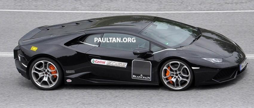 SPYSHOTS: Lambo Huracan SV testing? Not likely… Image #335625