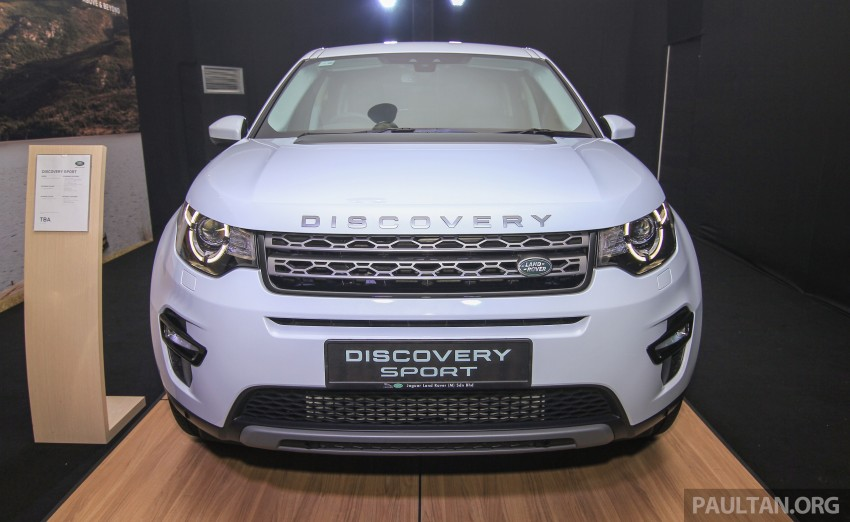 Land Rover Discovery Sport SD4 previewed in Sepang – 2.0L petrol and 2.2L diesel to go on sale late-July Image #342160