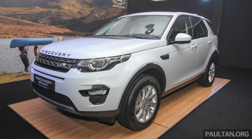 Land Rover Discovery Sport SD4 previewed in Sepang – 2.0L petrol and 2.2L diesel to go on sale late-July Image #342161