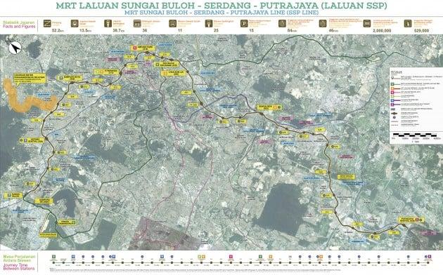 MRT Line 2 SSP Map