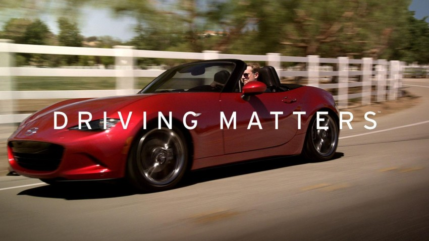 Mazda launches 'Driving Matters' ad campaign in the USA – goes back to the essence of Zoom-Zoom Image #342065