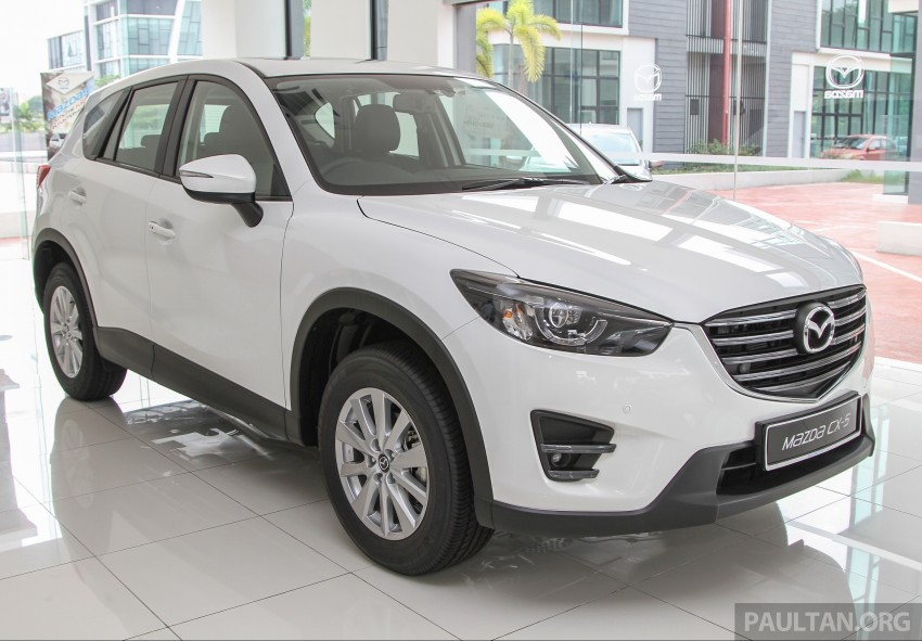 Mazda CX-5 facelift in Malaysia: CBU 2.5, from RM168k Image #335997