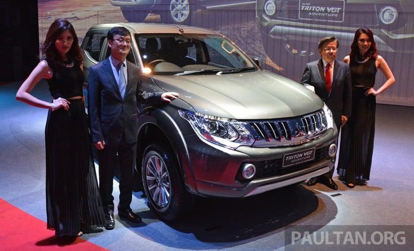 2015 Mitsubishi Triton launched in Malaysia – fr RM67k Image #343043