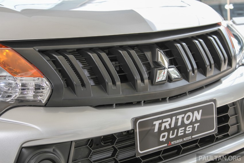 GALLERY: Mitsubishi Triton Quest 4X2 – the new Lite Image #339833