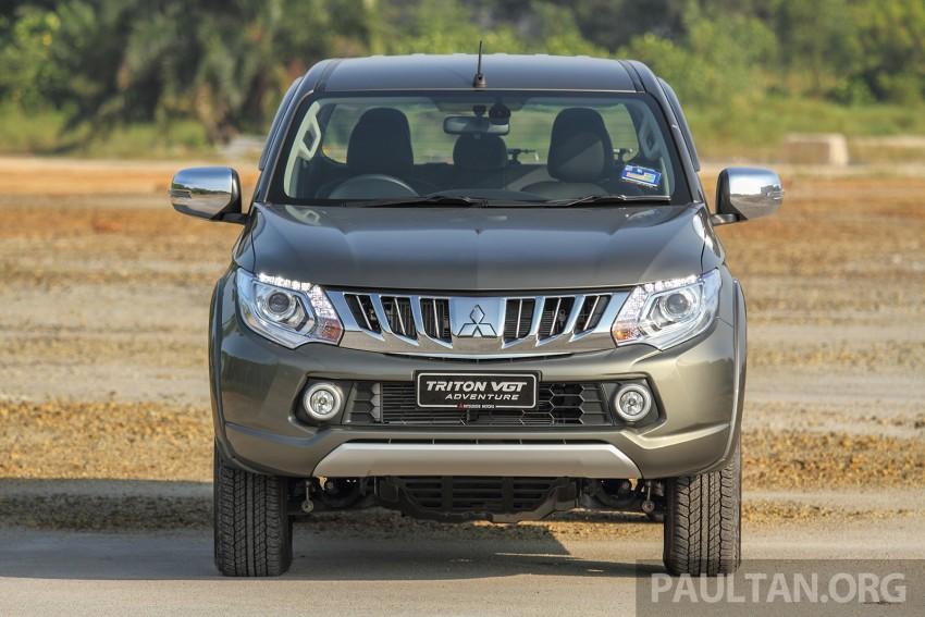 2015 Mitsubishi Triton launched in Malaysia – fr RM67k Image #342882