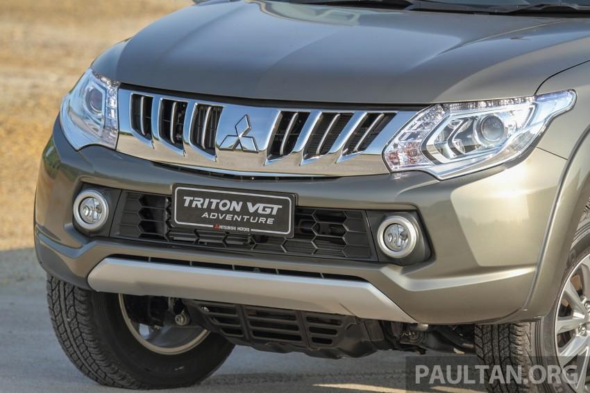 2015 Mitsubishi Triton launched in Malaysia – fr RM67k Image #342892