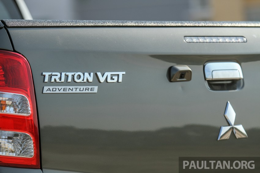 2015 Mitsubishi Triton launched in Malaysia – fr RM67k Image #342897
