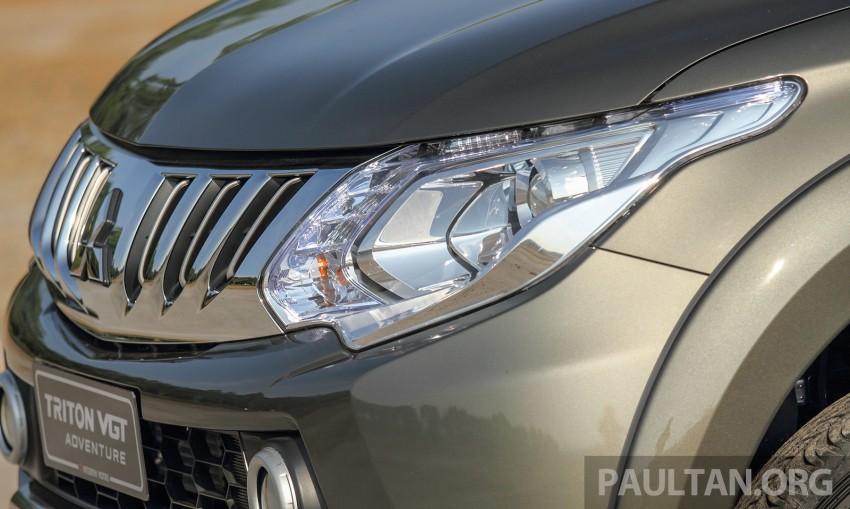 2015 Mitsubishi Triton launched in Malaysia – fr RM67k Image #342887