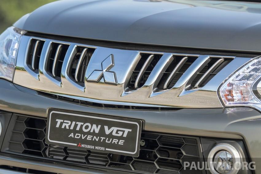2015 Mitsubishi Triton launched in Malaysia – fr RM67k Image #342888