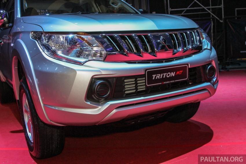 2015 Mitsubishi Triton launched in Malaysia – fr RM67k Image #343356