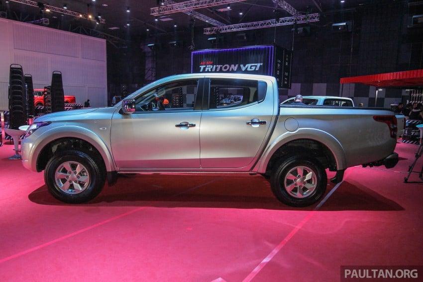 2015 Mitsubishi Triton launched in Malaysia – fr RM67k Image #343373