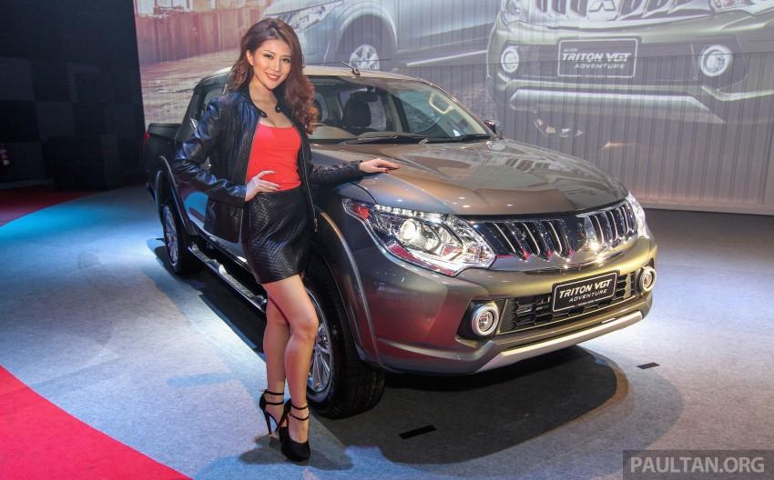 2015 Mitsubishi Triton launched in Malaysia – fr RM67k Image #343376