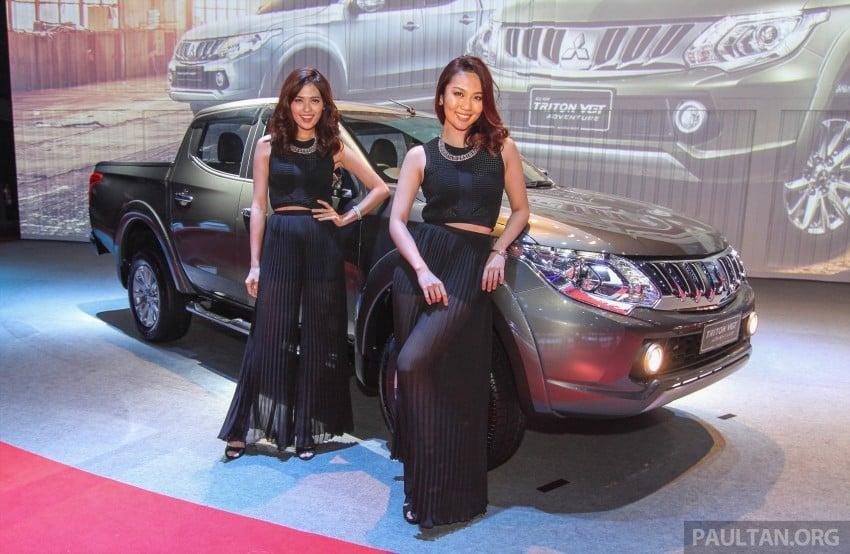 2015 Mitsubishi Triton launched in Malaysia – fr RM67k Image #343390