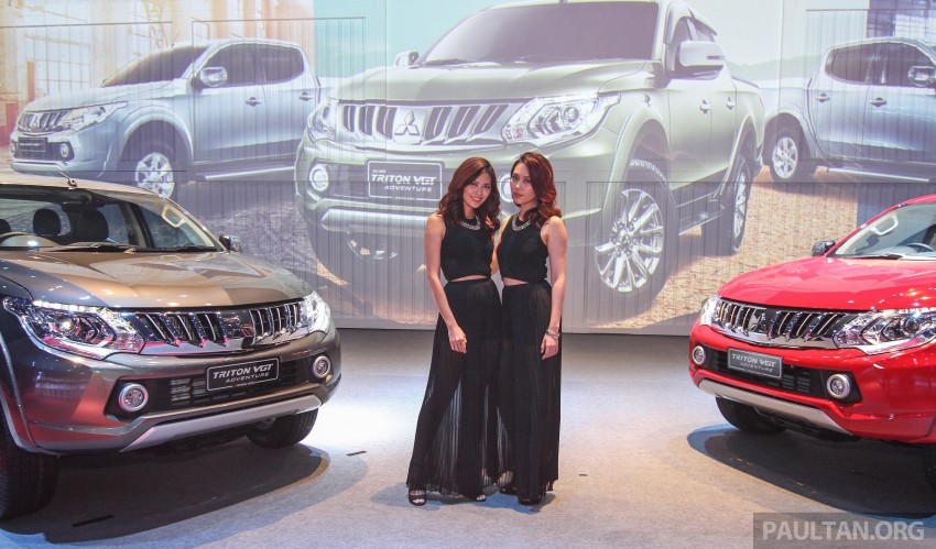 2015 Mitsubishi Triton launched in Malaysia – fr RM67k Image #343393