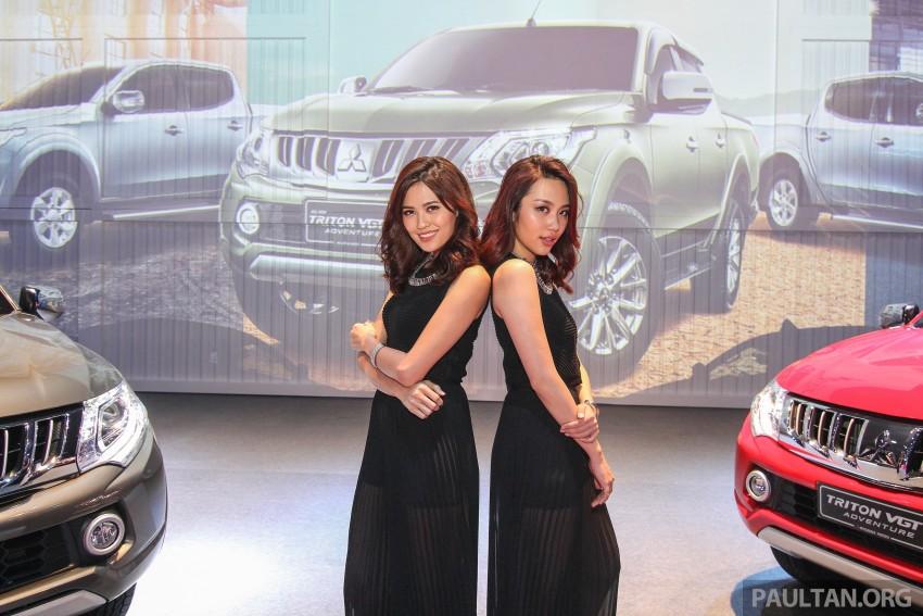 2015 Mitsubishi Triton launched in Malaysia – fr RM67k Image #343395