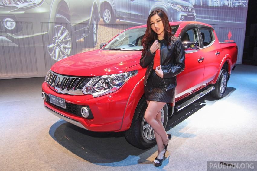 2015 Mitsubishi Triton launched in Malaysia – fr RM67k Image #343396