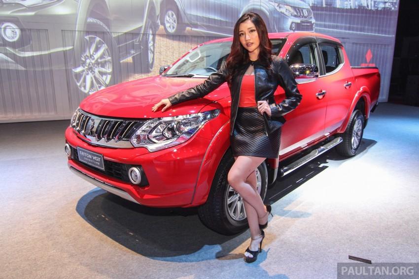 2015 Mitsubishi Triton launched in Malaysia – fr RM67k Image #343397