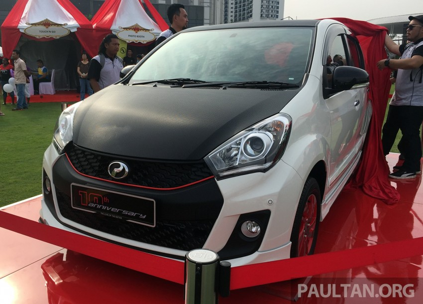 Perodua Myvi celebrates 10th anniversary – limited edition Commemorative Myvi revealed, 10 units only Image #342425