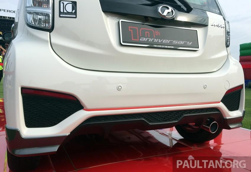 Perodua Myvi celebrates 10th anniversary – limited edition Commemorative Myvi revealed, 10 units only Image #342434